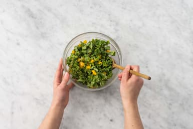Make kale salad