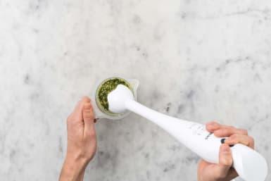 Pesto zubereiten