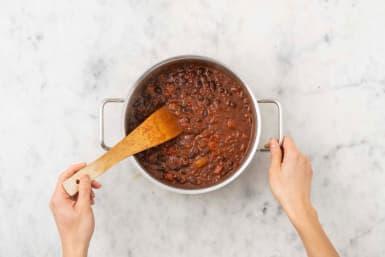 Réaliser la sauce