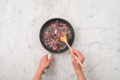 Rode ui karamelliseren