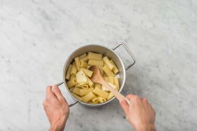Finish pasta