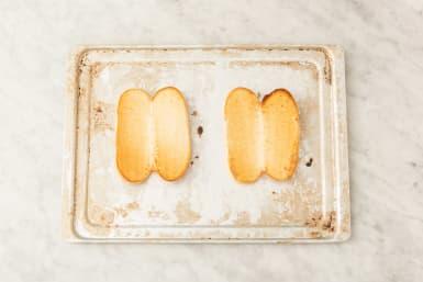 Toast rolls