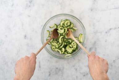 Komkommer bereiden