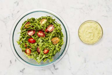 Make Salad & Basil Mayo