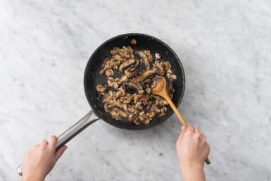 Cuire les champignons