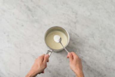 Finir la crème