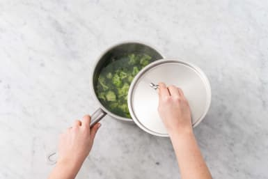 Kook de broccoli