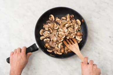 Champignons bakken