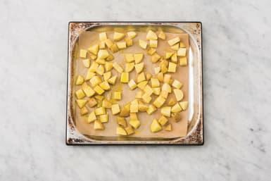 Roast the potato