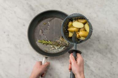 Kartoffeln fertigstellen
