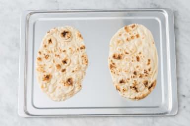 Toast naan