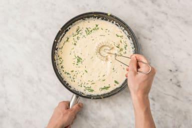 Make tarragon sauce