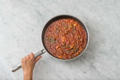 Simmer the Sauce