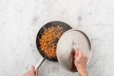 Cuire la carotte