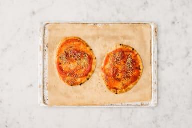 Préparer la pizza