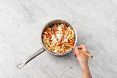 Rör ihop pasta