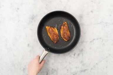 Cook barramundi