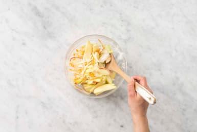 Förbered äppelslaw
