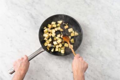 Stek aubergine