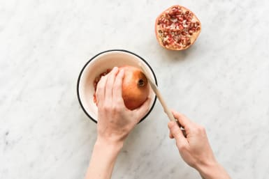 Granatapfel entkernen