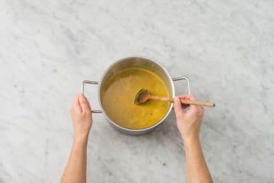 Suppe köcheln