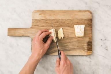 Brie snijden
