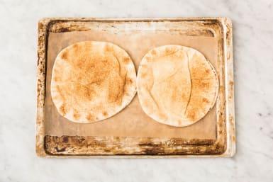 Platbrood afbakken