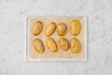 Kartoffeln backen