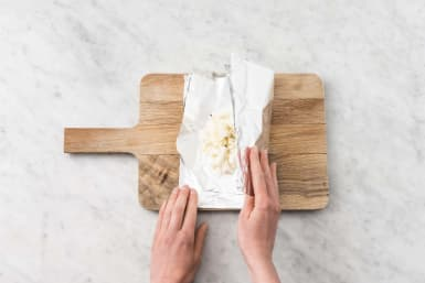 Make foil pouch