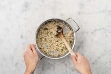 Finish couscous