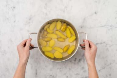 Krieltjes koken