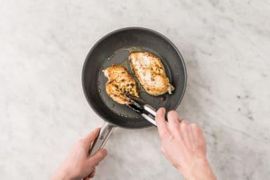 Cuire le poulet