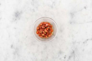 Préparer la salsa
