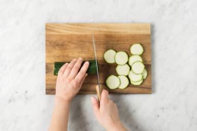 Für das Ofengemüse