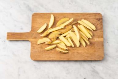 Dela potatis