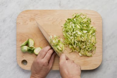 Prep Brussels Sprouts