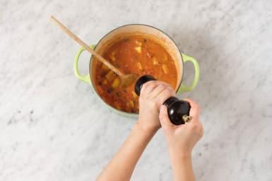 Suppe würzen