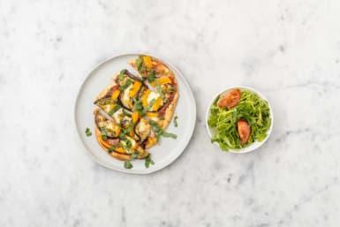 Préparer la salade et servir