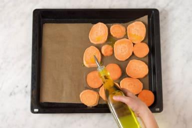 Für die Süßkartoffeln
