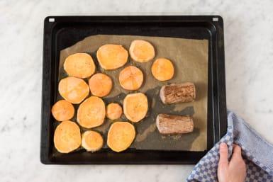 Fleisch im Ofen garen