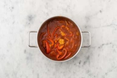 Paprikatopf kochen