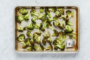 Roast Garlic & Broccoli