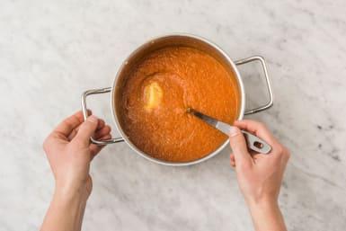 Suppe pürieren