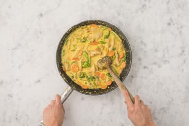Curry vollenden
