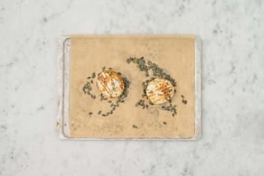 Camembert zubereiten