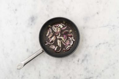 Cook onions