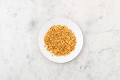 Prep panko-shallot mixture