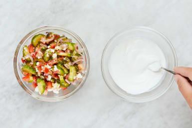 Make Salad & Sauce