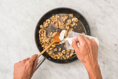 Champignonroomsaus maken