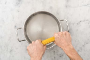 Cook linguine